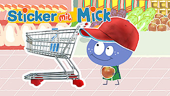 Sticker mit Mick (2012)