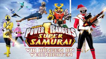 Power Rangers Super Samurai: Wir hängen an Weihnachten (2012)