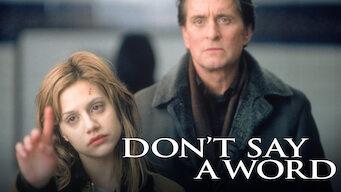 Sag' kein Wort! (2001)