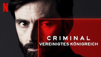 Criminal: Vereinigtes Königreich (2019)
