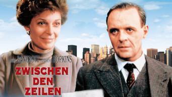 Zwischen den Zeilen (1986)