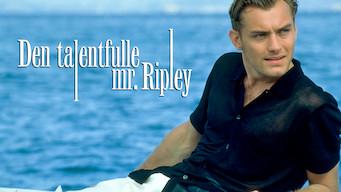 Den talentfulle mr. Ripley (1999)