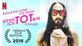 Steve Aoki: Schlafen kann ich noch, wenn ich tot bin (2016)