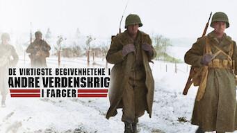 De viktigste begivenhetene i andre verdenskrig i farger (2019)