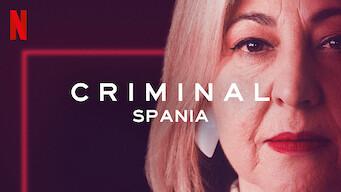 Criminal: Spania (2019)